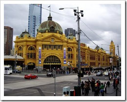 Flinders Str Station