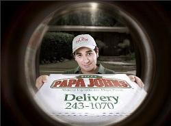 Papa Johns Peephole