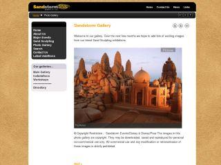Sandstorm Events Website