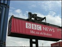BBC GPS-enbaled Container