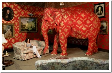 Banksy - elephant in the room