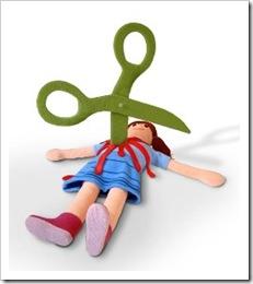 scissor stab