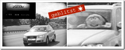 Speeding Muppet - br-online.de