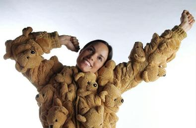Sebastian Errazuriz Teddy Bear Coat
