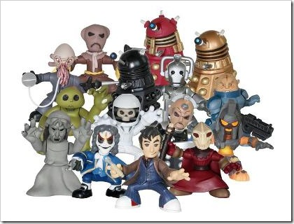 doctor who figurines
