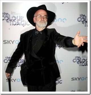 "Terry Pratchett at ""The Colour of Magic"" launch"