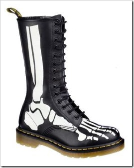 skeleton doc martens