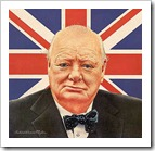 winston churchill union flag