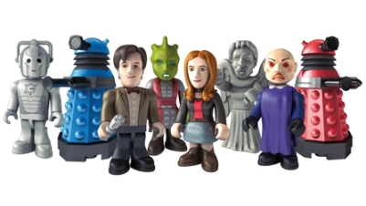2011 Dr Who Figurines
