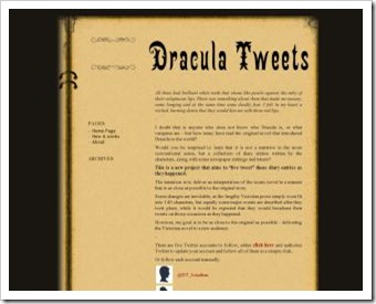 dracula tweets