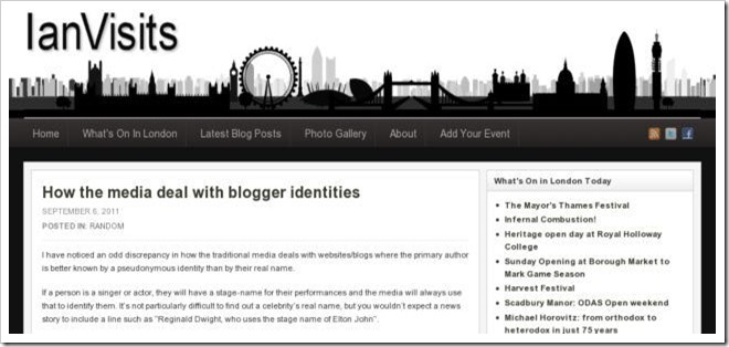 ian visits - How the Media Treat Bloggers Identities